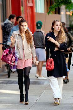 Girls Series 3 On-Set Filming