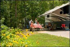 Arkansas Camping - Arkansas Campgrounds - Arkansas RV Parks    rv camping, rv campgrounds, arkansas rv trip