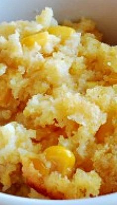 Slow Cooker Corn Casserole (Double ingredients, cook on high for 5 hours in 6 qt crockpot) Crock Pot Food, Crockpot Dishes, Crock Pot Slow Cooker, Slow Cooker Recipes, Crockpot Recipes, Cooking Recipes, Hamburger Recipes, Keto Recipes, Corn Recipes
