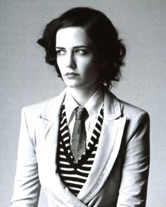 Possibly the prettiest woman ever, Eva Green.