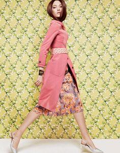 a twist of pink: yumi lambert by greg kadel for vogue china march 2014