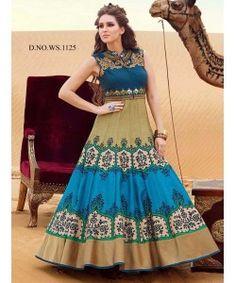 Latest Fancy Designer Gown  http://www.kmozi.com/latest-fancy-designer-gown-899