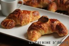 Recipe of Classic French Croissants. Recipe of Bread and Doughs, Doughs and Batters for 9 persons. La Cuisine d'Annie gathers easy recipes and family dinner ideas. Summer Recipes, Fall Recipes, Grated Carrot Salad, French Croissant, Creamy Spinach, Latest Recipe, Barbecue Recipes, Pastry Recipes, Food Print