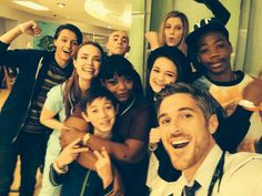 Red Band Society cast. I can't describe how awesome this show is.