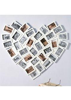 In diesem überdimensionalen #Bilderrahmen »Herz« von WOHNTRAUM COLLECTION ist Platz für 35 Lieblingsfotos der Größe 10 x 15 cm. www.otto.de