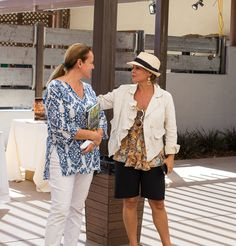 Fess Parker Winery- Pascale Beale and Cat Cora