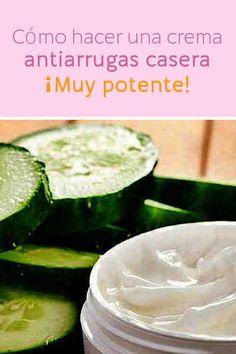 Cómo hacer una crema antiarrugas casera. Muy potente.  #antiarrugas #lifting #rejuvenecimiento #piel #cara