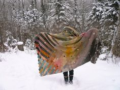 knit!- woolen wings by amona, via Flickr