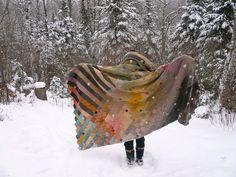 knit!- woolen wings by amona, via Flickr