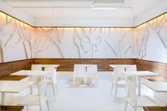 CAFES! Frjtz Cafe by Y.A. Studio, San Francisco store design #tree