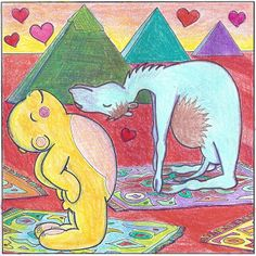 Yoga Teddy Bear Valentine's Day: Open Your Heart with Camel Pose (Ustrasana)