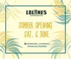 Beach Bars, Summer, Summer Time, Verano