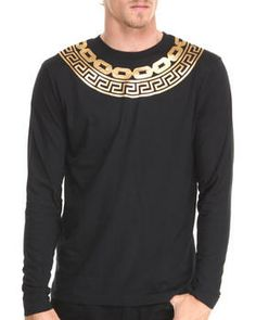 Greco Chain Gang T-Shirt by Crooks & Castles