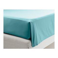 GÄSPA Sheet set, turquoise - turquoise - Full - IKEA