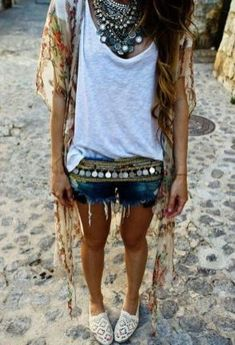 Stylish bohemian boho chic outfits style ideas 104 - The latest in Bohemian Fashion! These literally go viral!