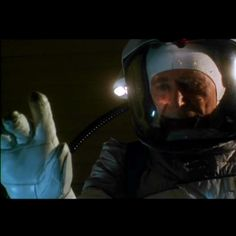 PHANTOMS - Dr. Timothy Flyte (Peter O'Toole) contamination suit glove