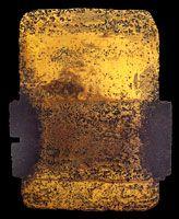Pierre Soulages, bronze, voir partie gravée de l'eau-forte XXIX, 1974