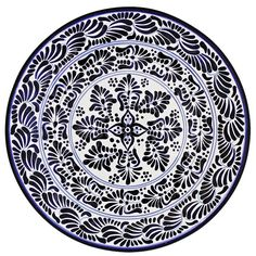 Talavera Platters Collection - Round Platter - THP14A