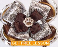 Free Lesson to Make a Boutique Hair Bow