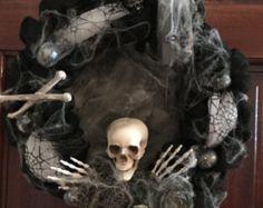 Una guirnalda de Halloween iluminada la por UpTownOriginals en Etsy