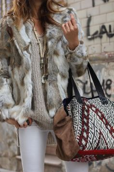 Best In Trend Winter Boho Outfits0261