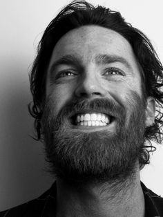 Chet Faker, not only is your beard glorious, but your voice is also of an angel's.