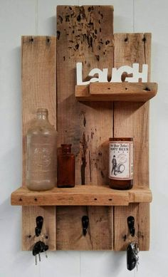 Hey, I found this really awesome Etsy listing at https://www.etsy.com/listing/506076398/handmade-rustic-pallet-shelfkey-rack