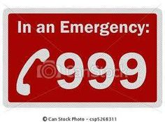 Look at the sign ONLY in an emergency would you call 999!!!!!