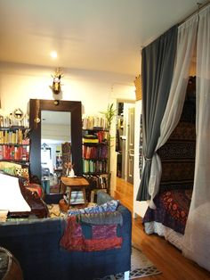 Natasha's Well-Traveled Brooklyn Studio Apartment