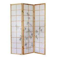 Raumteiler Japanisch paravent yin yang natur home design jetzt bestellen unter