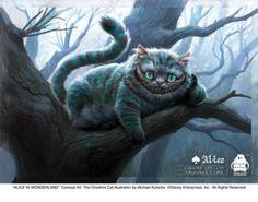不思議の国のアリス チェシャ猫イラスト