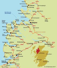Visit Wester Ross - Wester Ross Map from Lochcarron to Ullapool in the Scottish Highlands Wester Ross, Scotland Holidays, Uk Trip, Magic Carpet, Scottish Highlands, Scotland Travel, 20th Anniversary, Normandy, Beautiful Scenery