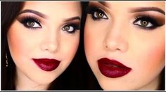 holiday makeup tutorial - YouTube
