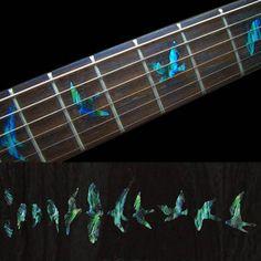 Birds (AG) Fret Markers Inlay Sticker Guitar $7