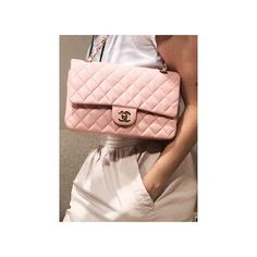 Chanel Double Flap Pink