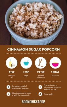 Nomnomnow on these great BOOM recipes! Recipes Appetizers And Snacks, Sweets Recipes, Yummy Snacks, Just Desserts, Delicious Desserts, Snack Recipes, Yummy Food, Healthy Popcorn, Healthy Treats