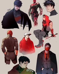 Jjmk-jjmk May be my favourite red hood artist because they'll often bring some sort of unique twist to the characters design or they'll…