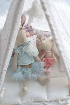 Maileg for little girl's room