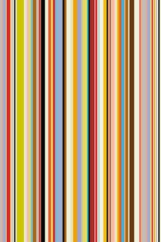 The thin bright stripes, my most recognizable pattern, were supposed to be used for only one season, but were so popular my customers wouldn't let me stop using them. Now I've made a big effort to use the stripes in a more minimal way.