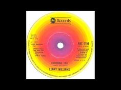 Lenny Williams - Choosing You - ABC  Great Classic Disco Love Song!