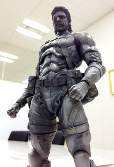 Punished Snake Action Figure Is Coming Along Nicely