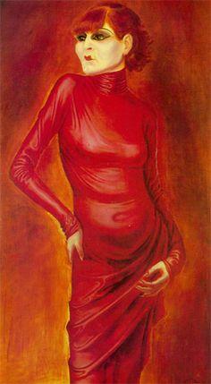 Otto Dix - Anita Berber 1925 | Suzanne's Sciamachy