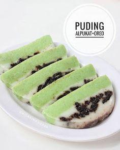 Puding Oreo, Pudding Desserts, Desert Recipes, Jelly, Healthy Recipes, Simple Recipes, Cake Recipes, Recipies, Deserts