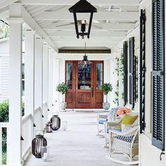 Breezy Entry - South Carolina River House Tour - Coastal Living