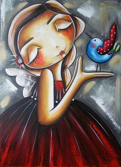 "Doce encanto: ""Minhas costas aguentam o peso que levo, porque o . Art And Illustration, Illustrations, Angel Drawing, Angel Images, Angel Art, Native Art, Whimsical Art, Art Images, Painting & Drawing"