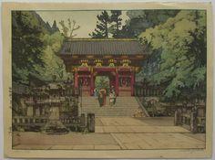 """Hiroshi Yoshida """"Gold Gate"""""""