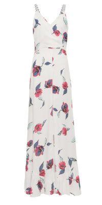Vestido longo floral Sardenha