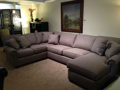 New #sectional on the floor! #furniture #design #upholstery #bronsteins