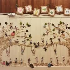 자연물로 꾸민 얼굴에 대한 이미지 검색결과 Auction Projects, Art Projects, Kindergarten Classroom, Classroom Decor, Diy And Crafts, Crafts For Kids, Student Photo, Board For Kids, Activity Board