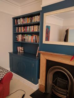 Alcove cupboard almost finished